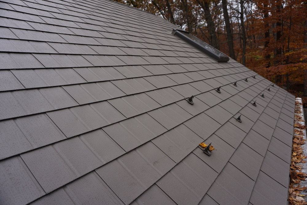 Weston Metal Roof After