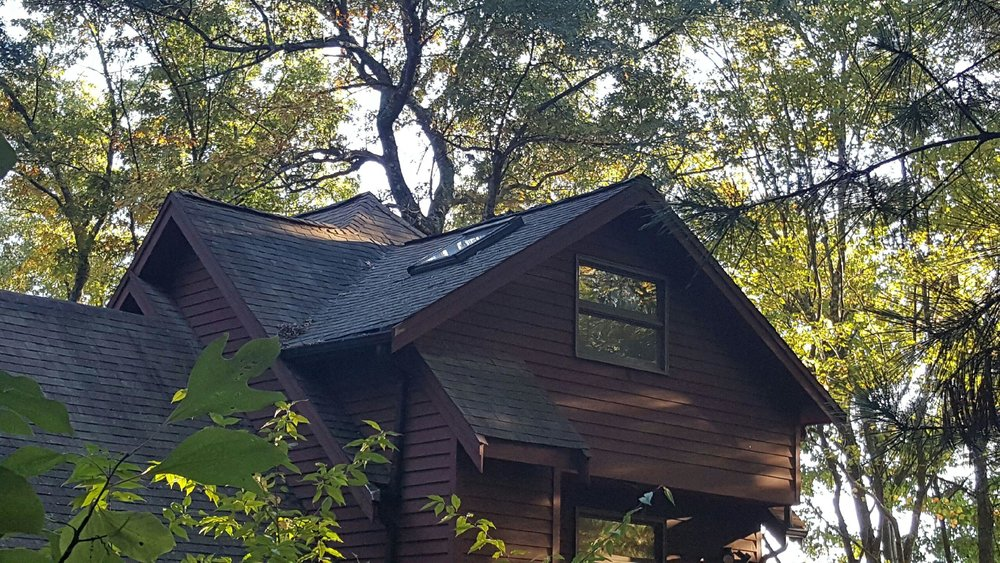 Rustic Galvanized Metal Roof in Hudson - Before