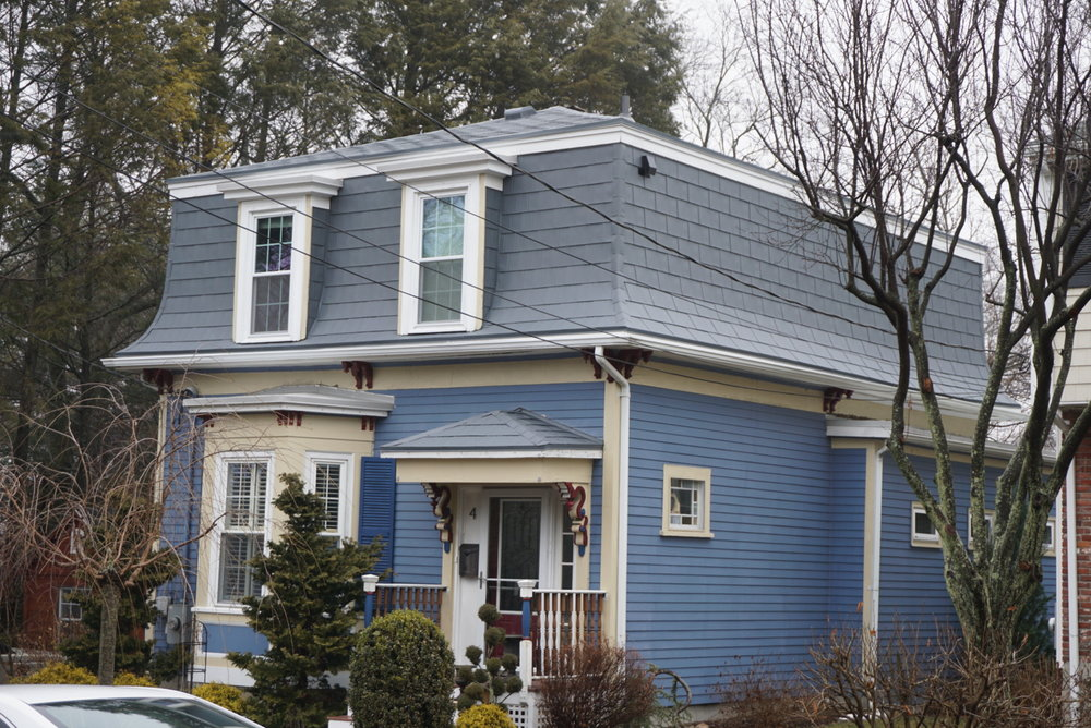 Braintree MA Dawn Gray Aluminum Shingle