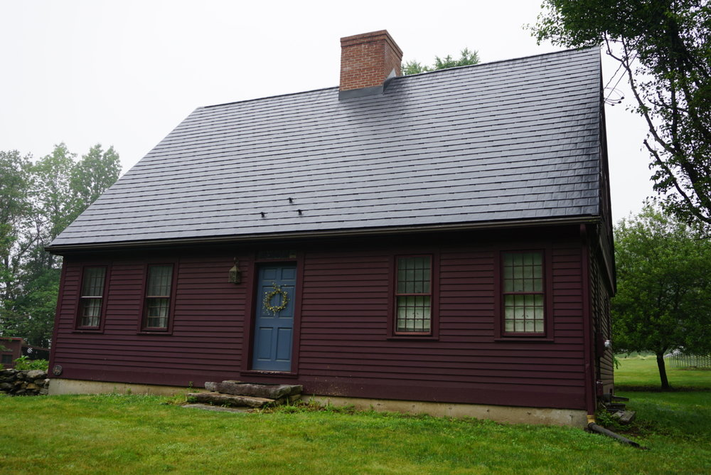 Black Slate Metal Roof in Lebanon, CT