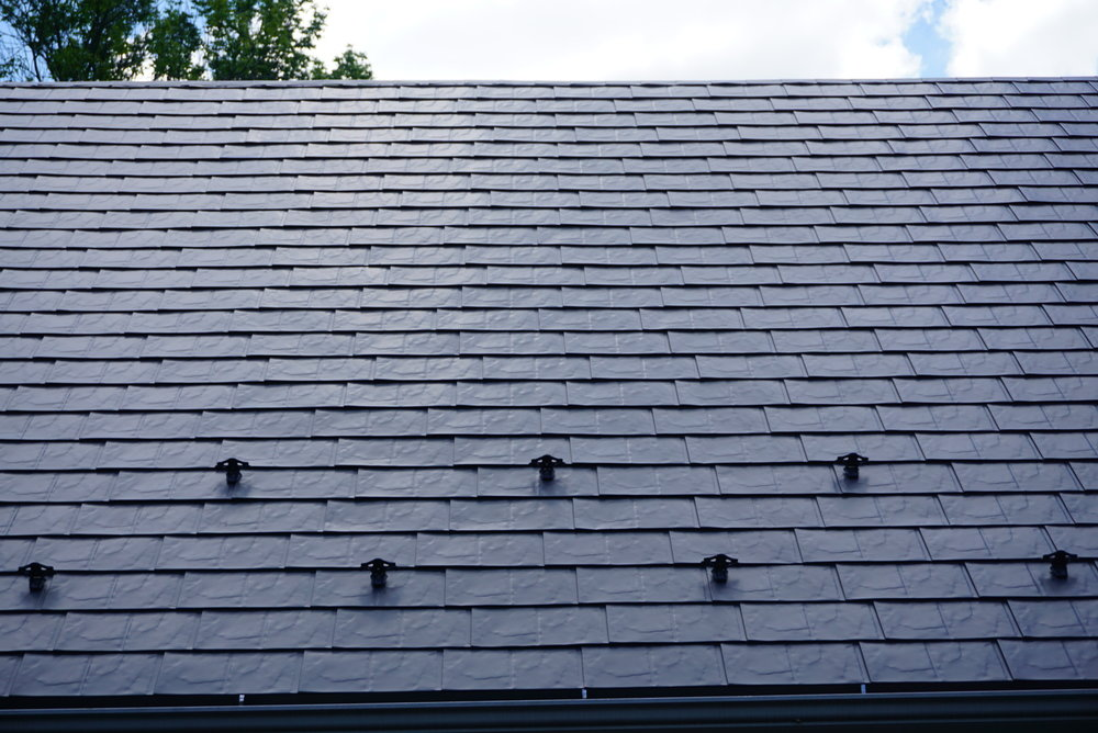 Gray Slate Metal Roof in Pomfret Center, CT