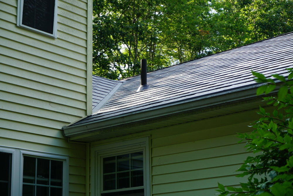 Dawn Gray Metal Roof in Rindge, NH