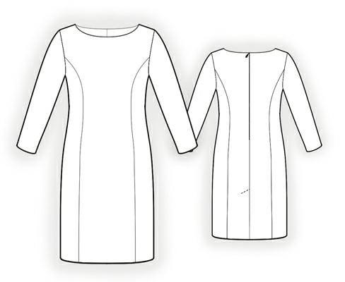 The Perfect Shift Dress - Lekala 5957 — Maker Style
