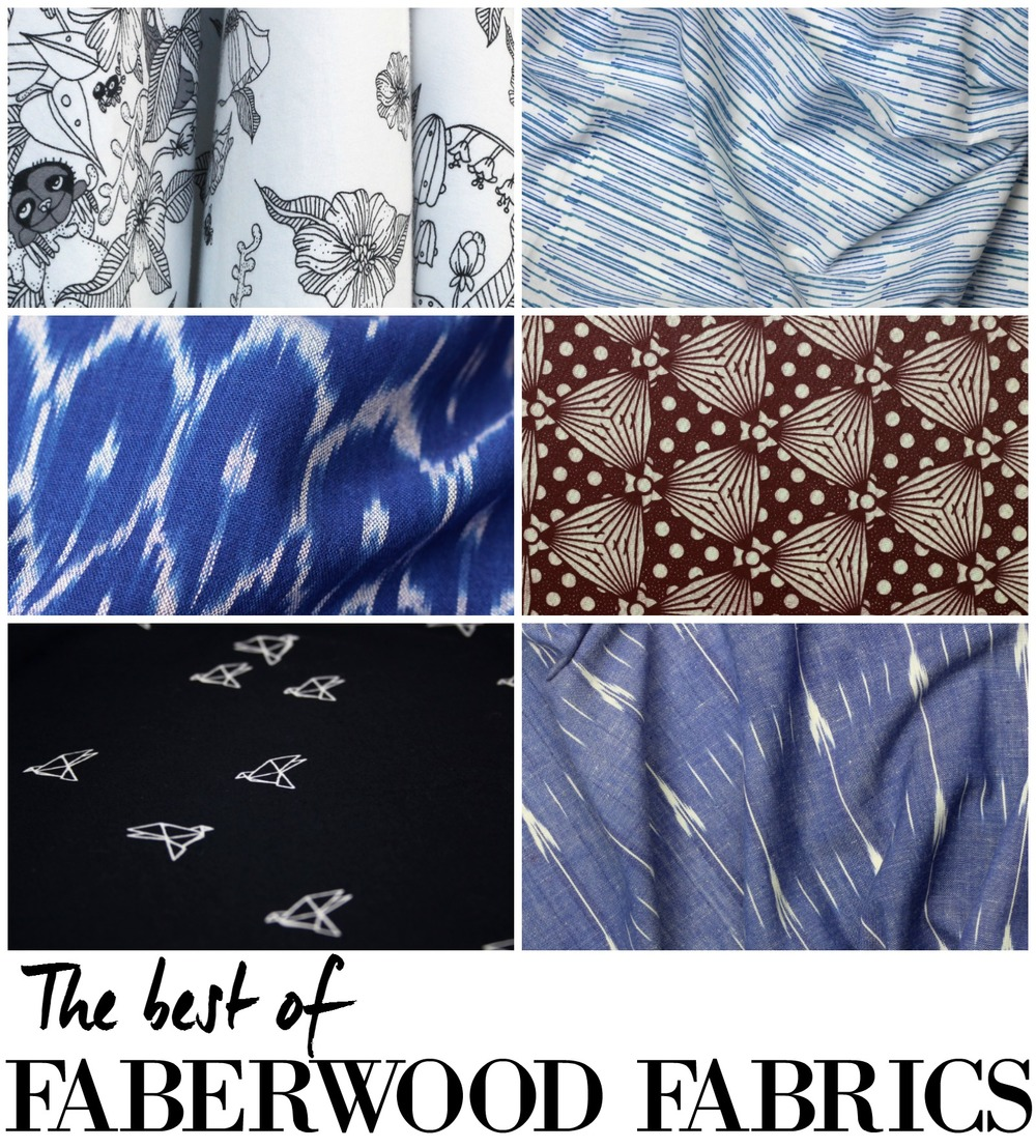 The best of Faberwood Fabrics - A roundup by The Wild Stitch