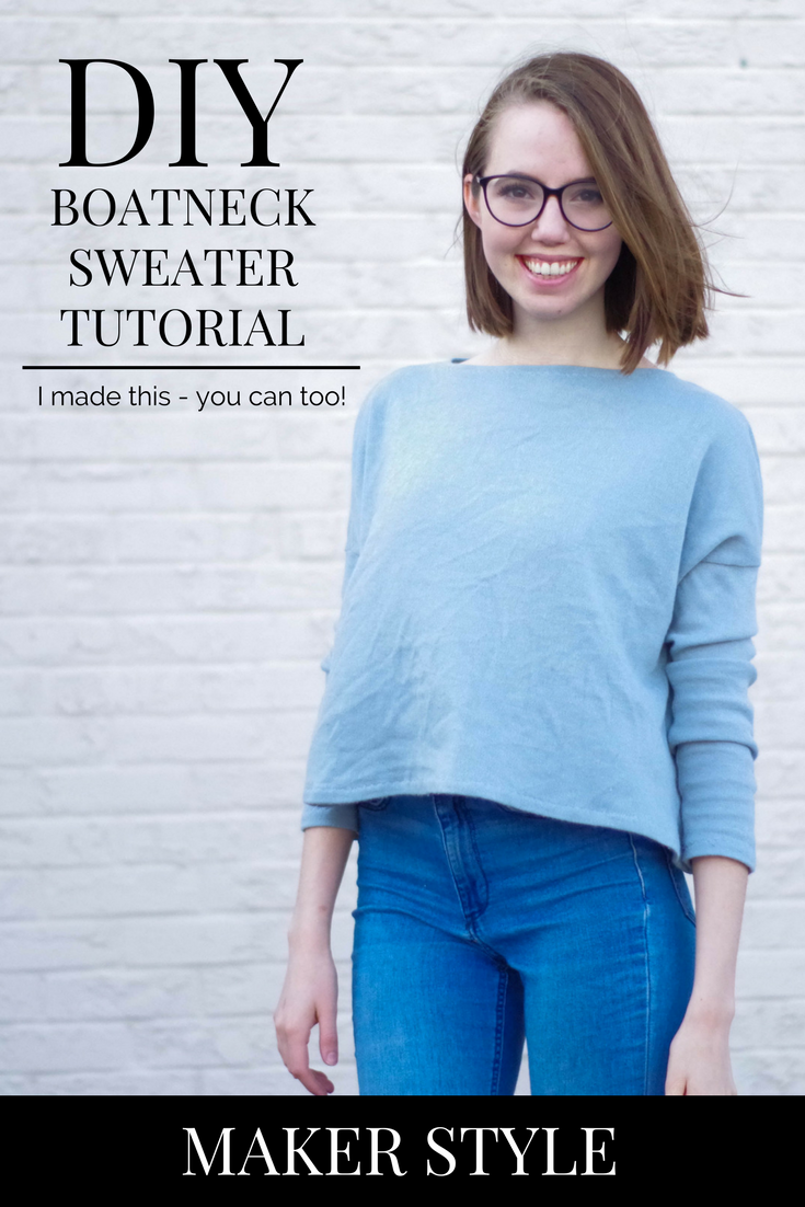 A Boatneck Hemlock for Spring + Tutorial — Maker Style