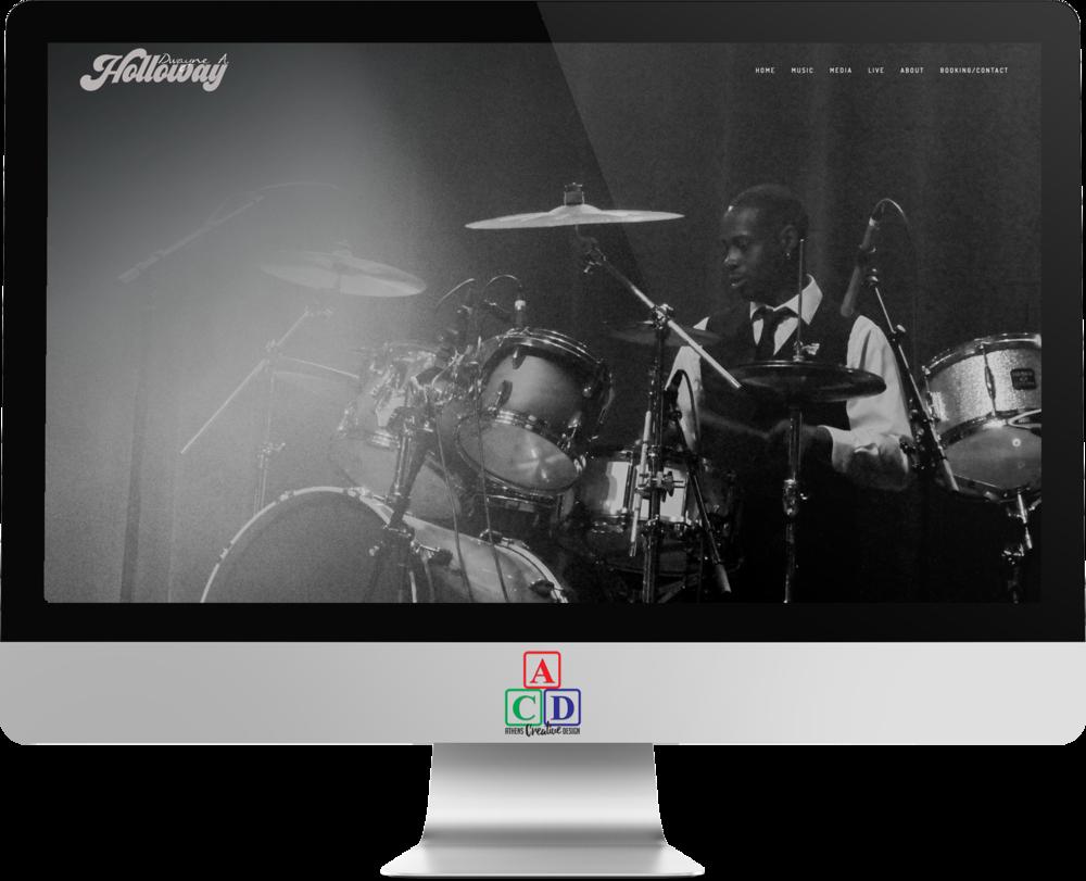Dwayne A. Holloway, Drummer