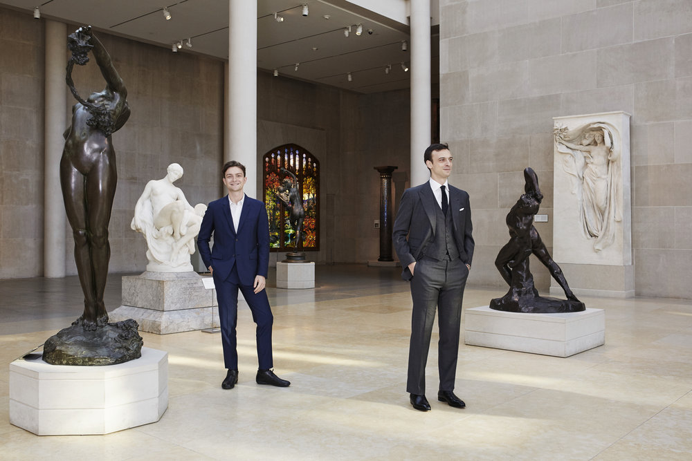 Noah & Eric Wunsch at the Met