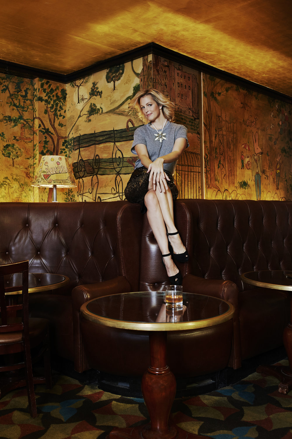 Ali Wentworth at Bemelmans Bar