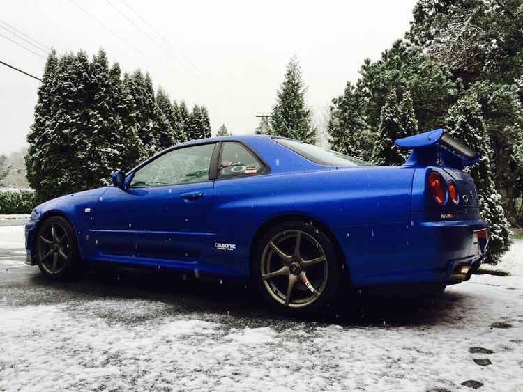 Lizzie 2000 Nissan Skyline R34 Gt R Vspec Ii Arneja Trading