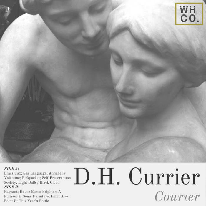 COURIER by D.H. Currier was released through Wirehouse Co. digitally in the summer of 2015.