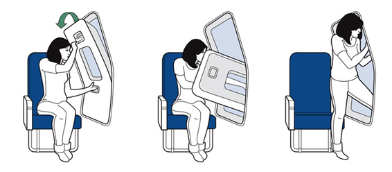 Actual photo of my feelings about flying. Toss the door open and GTFO.