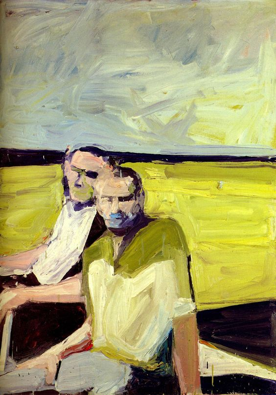 Painting by Paul Wonner