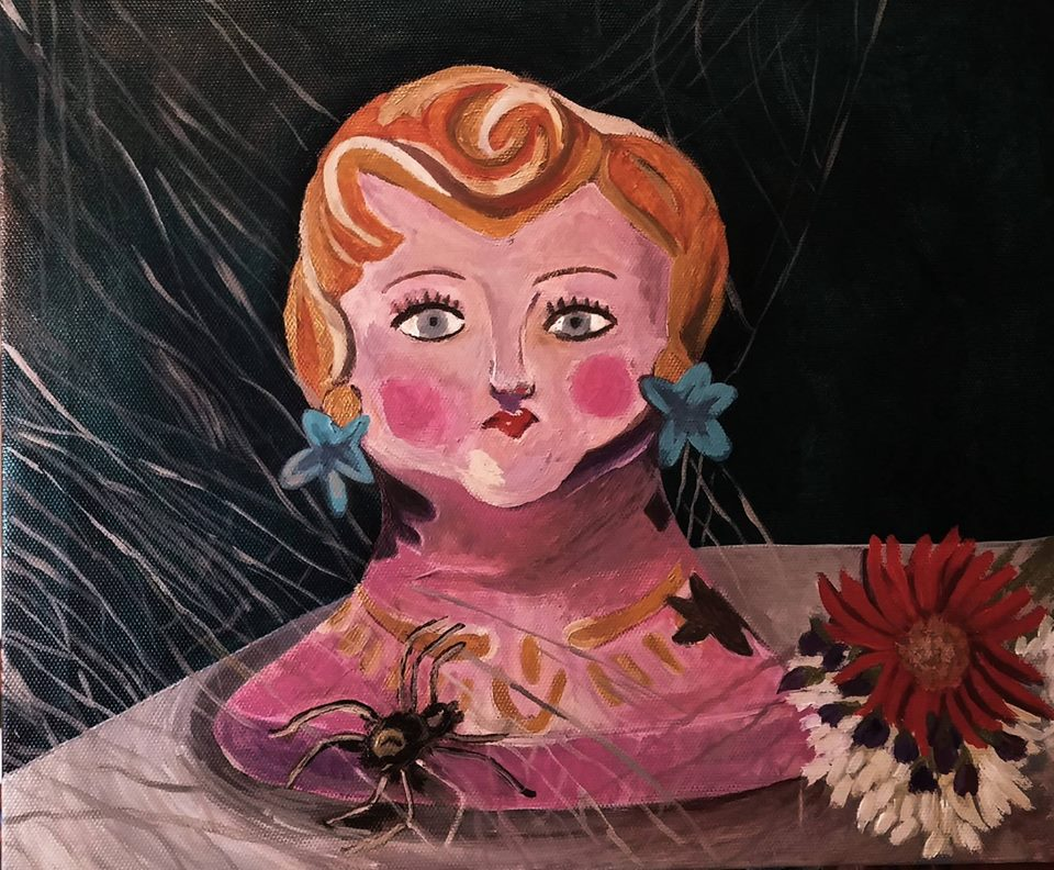 _Little Miss. Muffet_ acrylic on canvas- June 8th.jpg