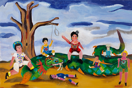 _Me vs Antonia_  acrylic on canvas. June 11_.jpg