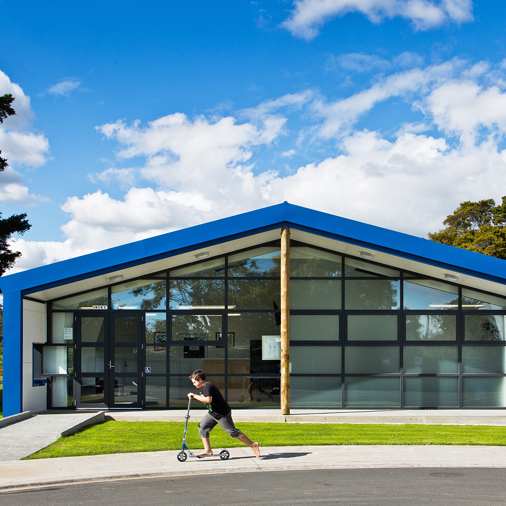 Kereru Park Campus Administration & Library Building S&T worked collaboratively with the staff and key stakeholders at Kereru Park Campus in South Auckland to construct an establishment which students could take ownership of.