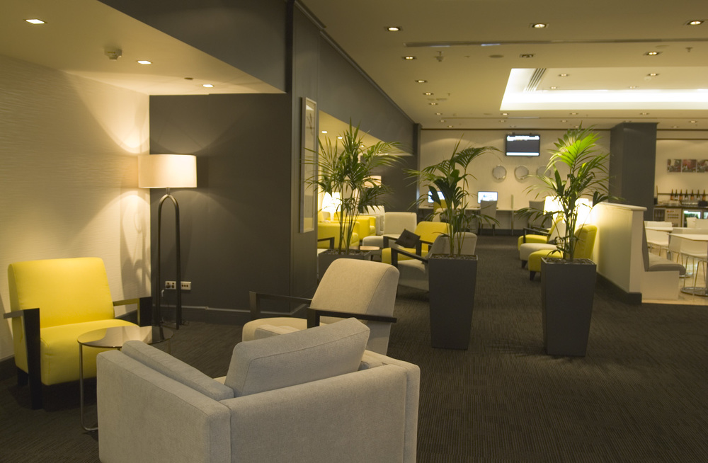 Auckland International Airport Emperor Lounge S&T created the Emperor Lounge which offers a quiet retreat for international travellers.