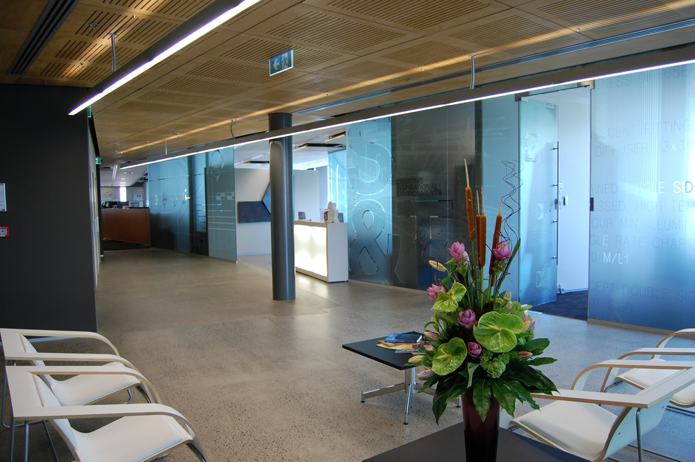 Stephenson & Turner Design Studio, Auckland After celebrating S&T's 50th anniversary in 2006, the Auckland office of architects and engineers relocated to new premises that would reflect the company's new brand identity and provide a welcoming environment for clients..