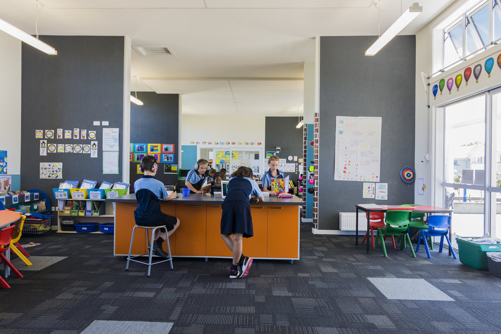 Papanui School, Christchurch Refurbishment Papanui School 's refurbishment was also an opportunity to transform its traditional classrooms into flexible and innovative learning environments.