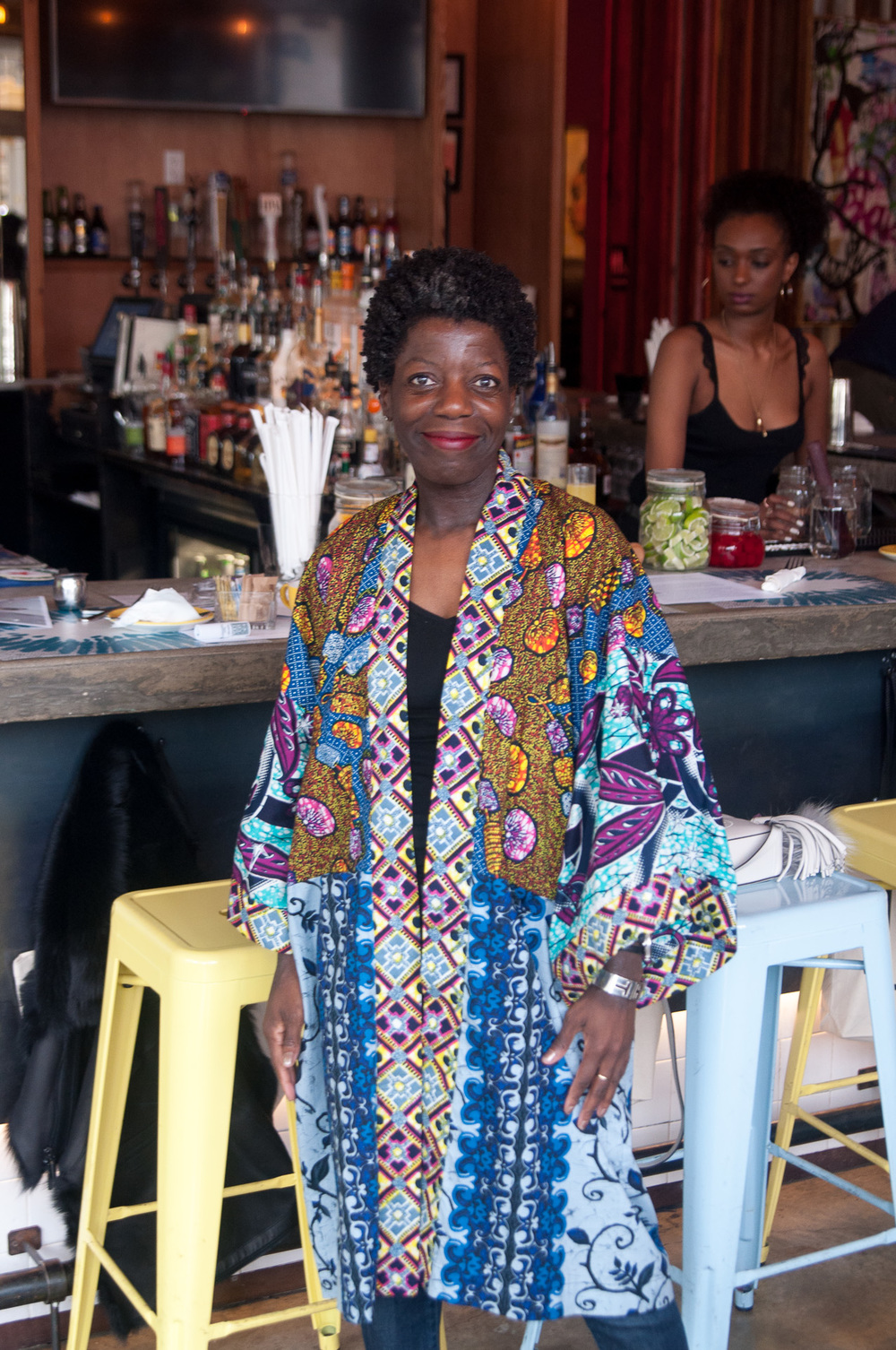 The amazing Thelma Golden, Director and Chief Curator of The Studio Museum in Harlem.