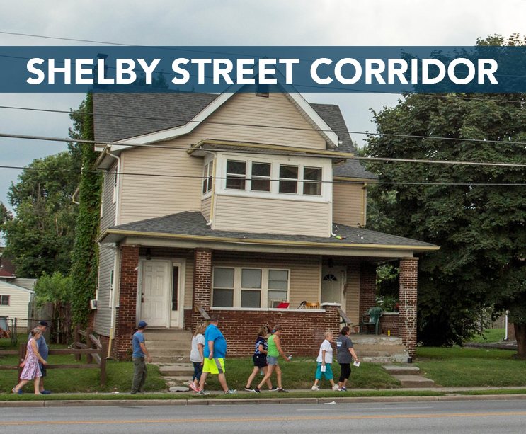 • Transform Shelby Street into a village community with public art, thriving local businesses, and improved connectivit Download the SHELBY STREET CORRIDOR workplan here