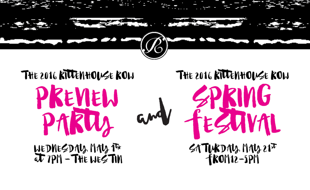 2016 Rittenhouse Row Spring Festival