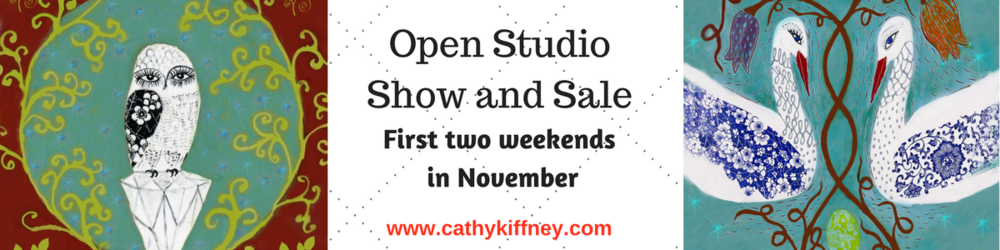 Please read my blog post with all the details about my open studio show! County-wide art tour, not to be missed!