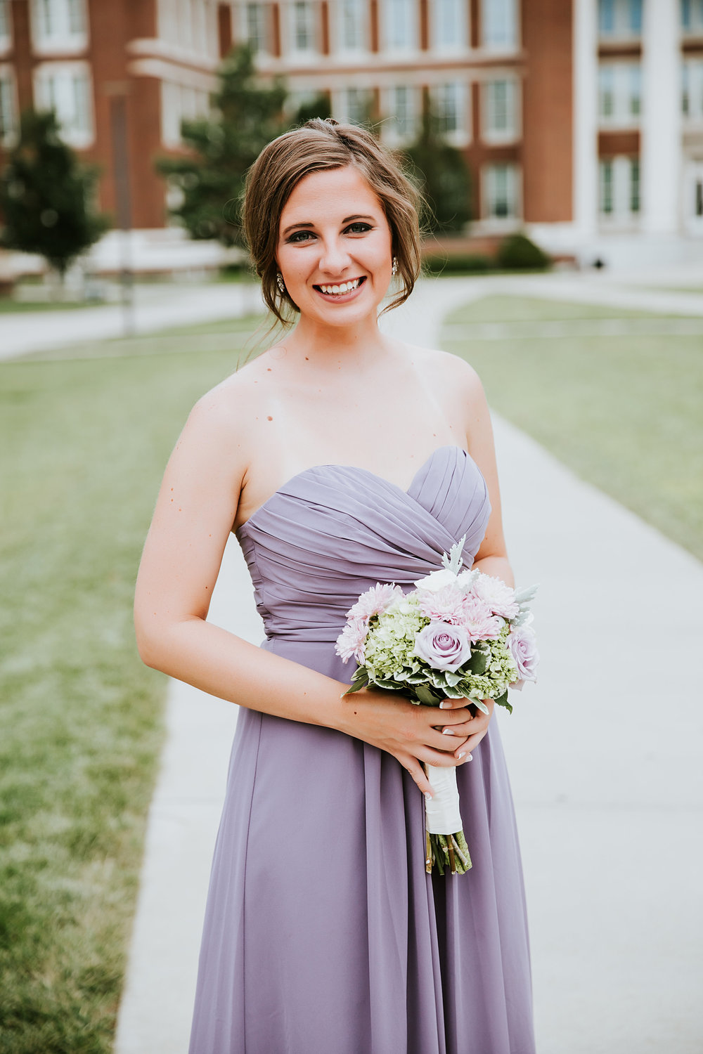 And this post would not be complete without a little bridesmaid love! Makeup on this lovely lady was done by  Jenny