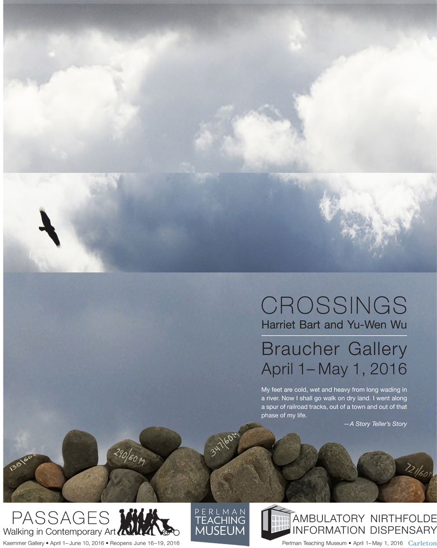 CROSSINGS - a new exhibition featuring Harriet Bart and Yu Wen Wu