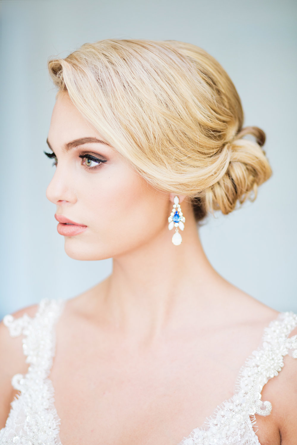 Blue Wedding Jewelry Vancouver Toronto Bride