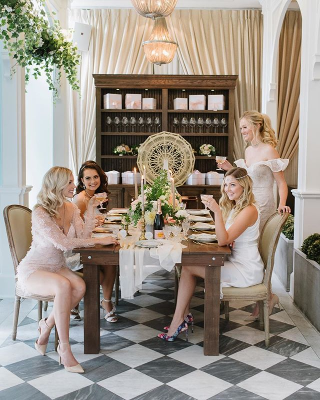 {GIVEAWAY} We can't think of a better venue for the winner of our 10k French Tea Bridal Shower Party than Toronto's @colettetoronto! It's Parisian-esque atmosphere is the perfect backdrop for photos and a breezy afternoon of pampering with your girls! Full prize details and how to enter on the blog (link in profile)