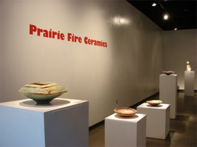 Prairie Fire Ceramics Exhibition in the Nancy Fyfe Cardozier Gallery at UTPB