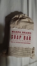 Marfa Brand Soap: Campfire