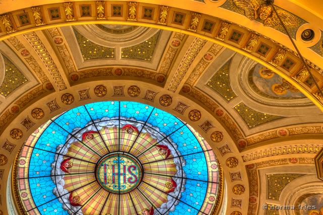 """BA500: """"St. Joseph Basilica: Primary dome"""""""