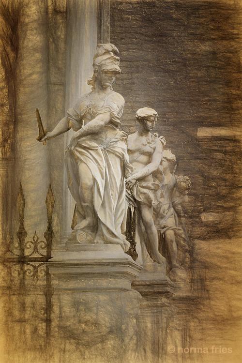 "IT216: ""Venice: stand guard"" (sketch version)"