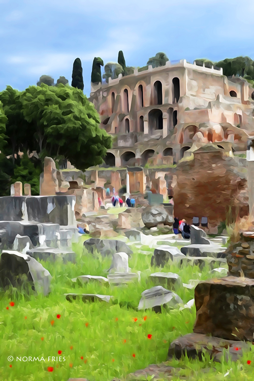 "IT248: ""Roman Forum: Palatine hill"""