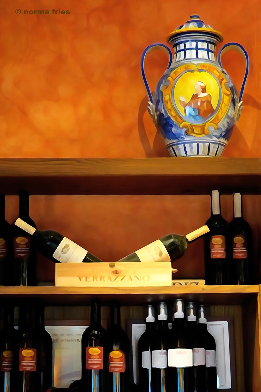 """IT260: """"Italy: Vase with wine"""""""
