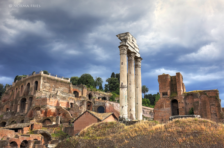 """IT249: """"Roman Forum: temple of Castor and Pollux"""""""