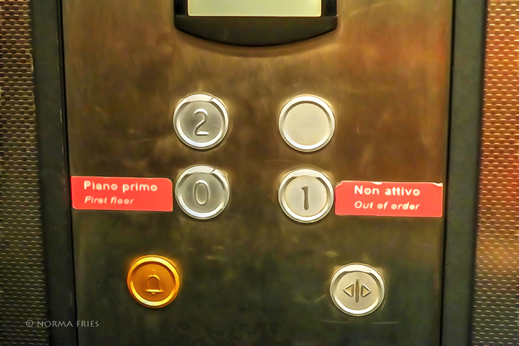 """IT301: """"Italy: elevator math - who is on first?"""""""