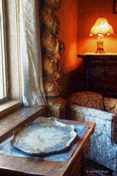 "NC603: ""Blue and orange room"" (painterly)"
