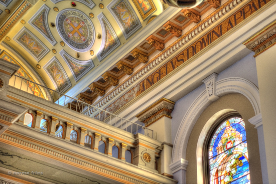 "BA501: ""St. Joseph's Basilica: Ballustrade"""