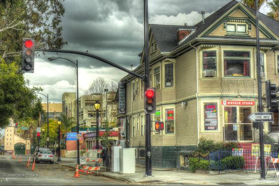 "TU726: ""San Jose, CA - street scene"""