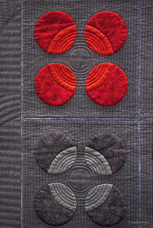 "XX1024: ""Quilt detail - Asian Zen"""