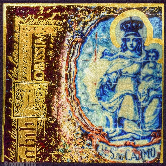 "CM429: ""MIssion Carmel: Madonna and child"""