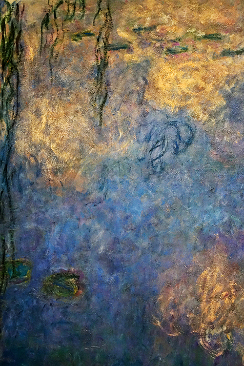 FR412 - Paris: Detail from Monet mural