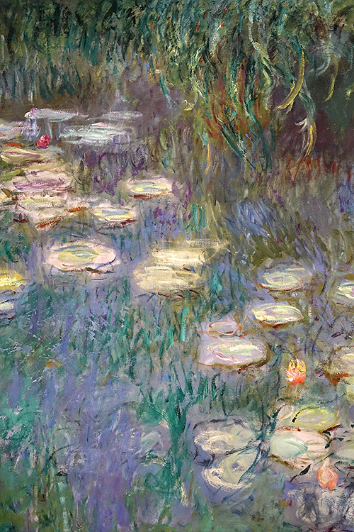 FR414 - Paris: Detail from Monet mural
