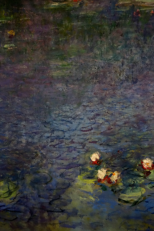 FR415 - Paris: Detail from Monet mural
