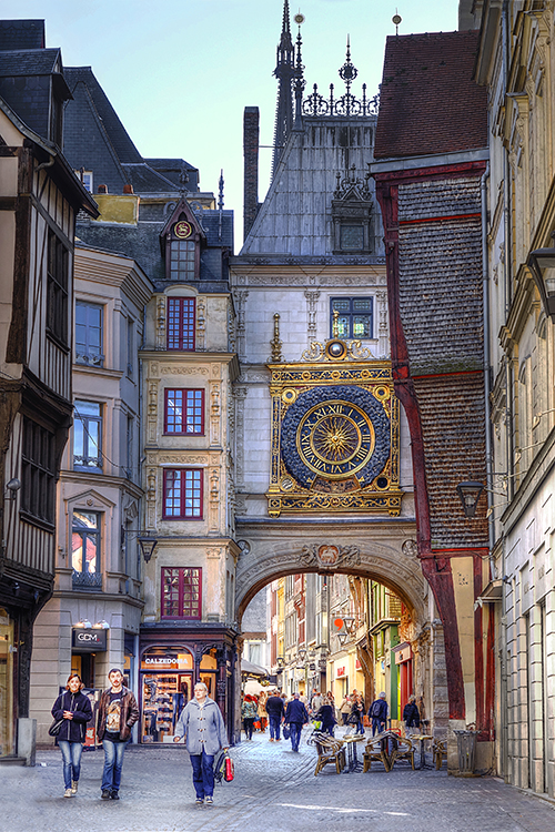 """FR434: """"The Great Clock"""" (Rouen, France)"""