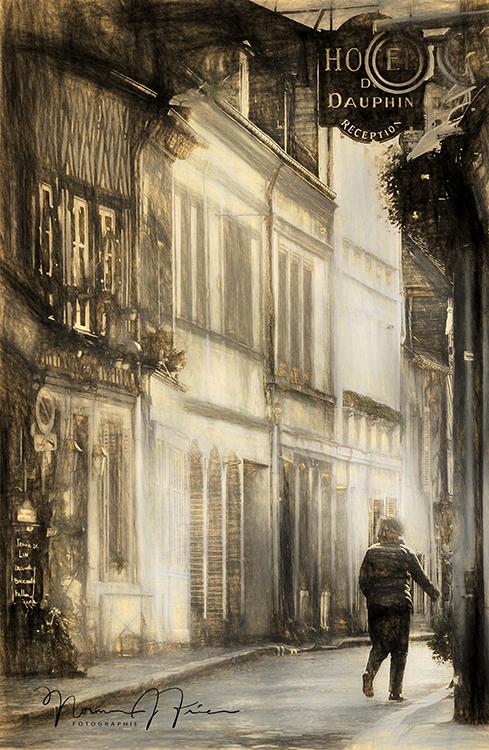 "FR440: ""Lady in Honfleur, France"""