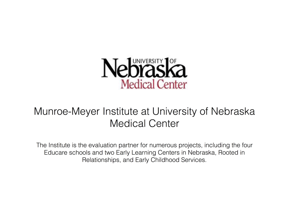 Click here to learn more about Munroe-Meyer Institute at University of Nebraska Medical Center.