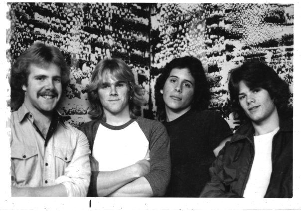Black Page from left to right – Matt Taynton (g), Bill Lescohier (d), Juan (b) Joe Hamilton (v)